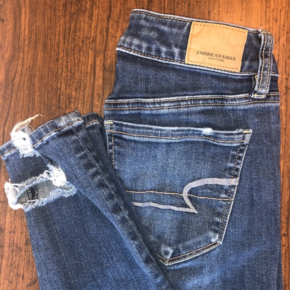 American Eagle Outfitters Denim - American Eagles Women's Jeans Skinny Hi-Rise